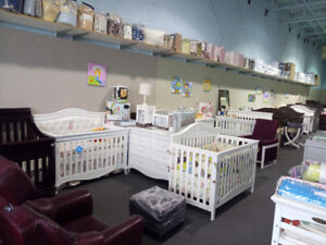 Baby cribs and furniture and more
