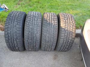 P225-60-R16 Winter Tires on Rims