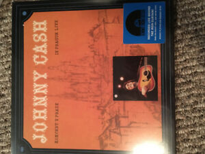 Johnny Cash Koncert v Praze Live Prague RSD Vinyl