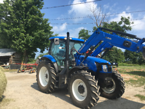 New Holland T6155 Tractor