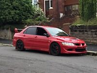 Mitsubishi Evo 8 VIII 370bhp Dyno UK Car Palma Red HPI Clear Lancer Evolution MR FQ