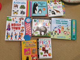Baby' first books bundle
