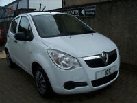 09 59 REG VAUXHALL AGILA 1.0 12V EXPRESSION 5DR WHITE £30 ROADTAX LOW INSURANCE