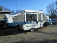 2005 yearling tent trailer