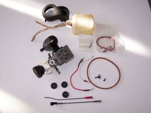 OS 30 Size Heli Engine and Accessories