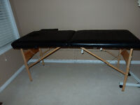 PORTABLE MASSAGE TABLE ...FORDABLE/ADJUSTABLE