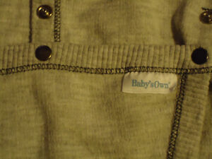 Boys Size 12 Months  Long Sleeved Diaper Style Baby's Own Onesie Kingston Kingston Area image 3