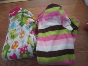 Fleece PJS (footed) Carters and Just One You made for Carters 5T