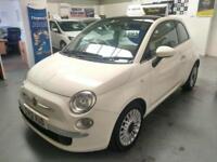 Stunning 2012 Fiat 500 TWINAIR 0.9 LOUNGE, ONLY 43k, FSH & WARRANTY!