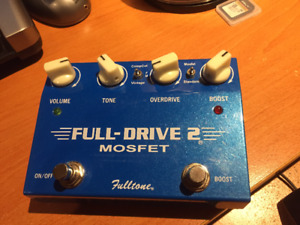 FULL-DRIVE 2 by fulltone TRADE for your CLEAN BOOST