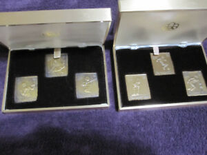 1976 Canada Olympics Bronze Stamp/Sculpture Sets
