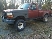 95 Ford F-150 + cash trade for motorcycle