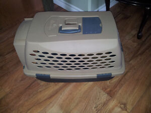 Dog carrier (used once) Size - for spaniel sized dog