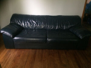 Leather couch for free