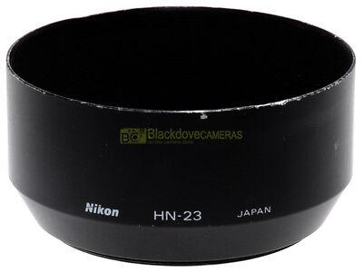 Nikon paraluce HN-23 a vite 62mm. x 85mm. f2,8 e 70/210mm. Originale.