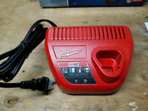New Milwaukee M12 battery charger.