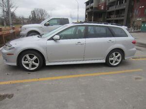 2004  Mazda6 Sport GT Hatchback,NO ACCIDENTS,NO RUST,SAFETY$4900