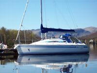 MG Spring 25 sailing yacht boat, used for sale  Darlington, County Durham