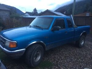 1995 Ford Ranger 4x4 5 Speed