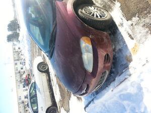 2001 Chrysler Sebring Sedan 1000$ or best offers