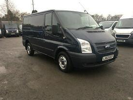 Ford Transit 2.2 TDCi 260 S Trend Low Roof Panel Van 5dr (EU5, SWB) (grey) 2013