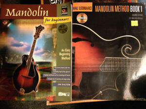Mandolin Method Guide learning books with cds