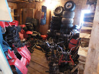 250 bigred parts and 250 fourtrax parts for sale