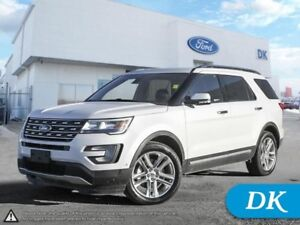 2017 Ford Explorer Limited AWD w/ Leather, Nav, Pano Moonroof, T