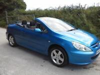 2005 Peugeot 307 CC 2.0 16v Coupe DAMAGED SPARES OR REPAIR SALVAGE