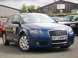 2007 AUDI A3 SPECIAL EDITION FINISHED IN MAURITIUS BLUE PEARL HATCHBACK PETROL