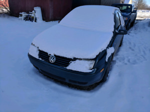 2002 Volkswagen Jetta tdi alh 5 spd for parts or repair