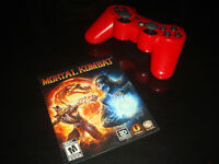 PS3-MORTAL KOMBAT 9-MANUAL ONLY (COMPLETE YOUR GAME)