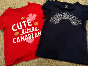 Girl's T-Shirts - 2T