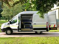 Ford Transit 2.2TDCi T350 Mwb Van, Utility Van, PTO Compressor / Generator.