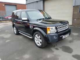 2007 57 LAND ROVER DISCOVERY 3 2.7TD V6 AUTO XS ONLY 88,200 MILES WARRANTED