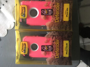 PINK otterbox cases iPhone 5,5s,se&galaxy 5,6&7