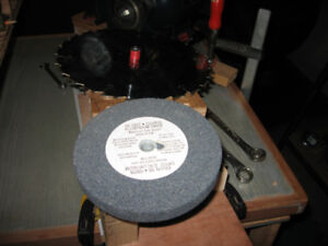 WANTED  old grinding wheel and saw blades.