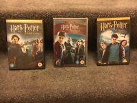 Harry Potter x3 Sets of DVD's