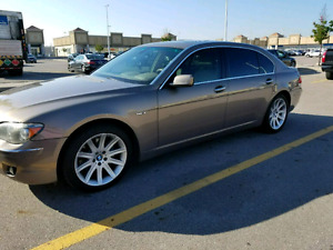 2006 BMW 750LI - with reclining back seats!