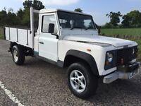 Land Rover defender tipper