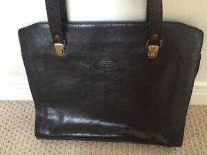 Italian leather The Trend tote purse
