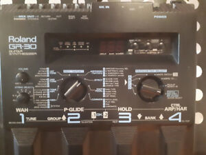 Roland GR-30 guitar synth w/GK2A pickup