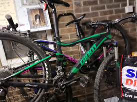 Giant Stance Small Adult frame Full suss mountain bike sale or swap