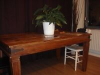 Vintage Country Dining Table