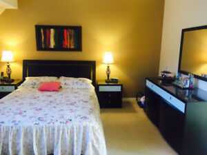 Moving Sale  (Queen size bed with night stands, dresser and mirr