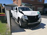 Damaged Nissan Navara D40 2014  Mount Druitt Blacktown Area Preview
