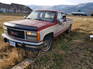 1991 GMC 2500 2wd for parts