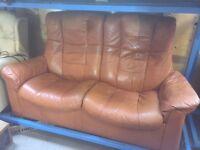 Free Ekornes Leather Sofa