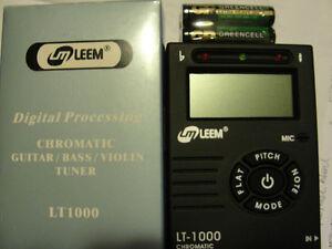 Accordeur digital LT-1000 LEEM