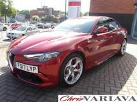 2017 Alfa Romeo Giulia 2.9 V6 BiTurbo Quadrifoglio 4dr Auto ** THE AWARD WINNING